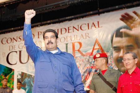 Maduro anuncia creación de Cuerpo y Policía Nacional Anticorrupción