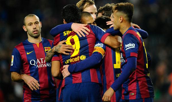 Barcelona sentencia al Elche con manita
