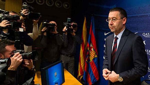 Bartomeu: «Messi quiere seguir en el Barcelona»