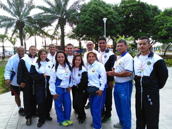 Vargas presente en los Juegos Universitarios de Barinas 2015