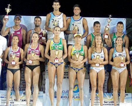 Jornada final de plata para Venezuela en el voleibol playa