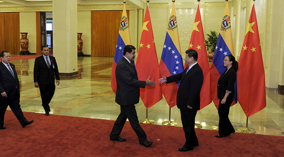 """Maduro: China y Venezuela están """"más unidos que nunca"""""""