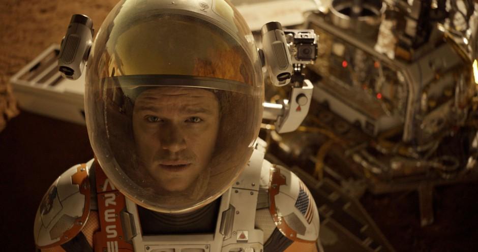 'The Martian' aterriza con éxito en las taquillas