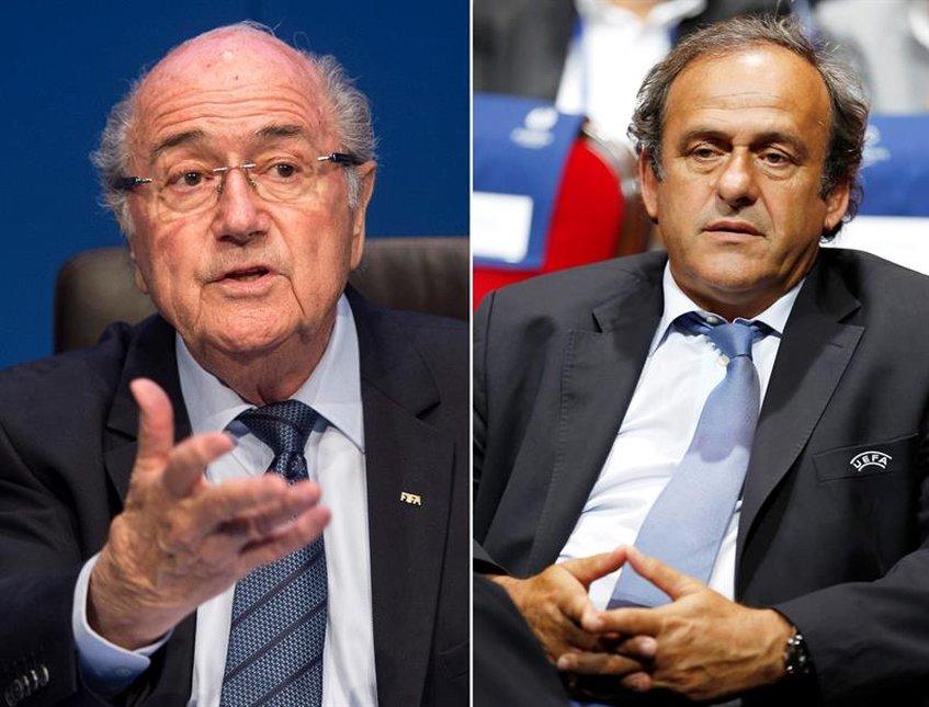 """Comisión de Ética de la FIFA pide """"sanciones"""" contra Blatter y Platini"""