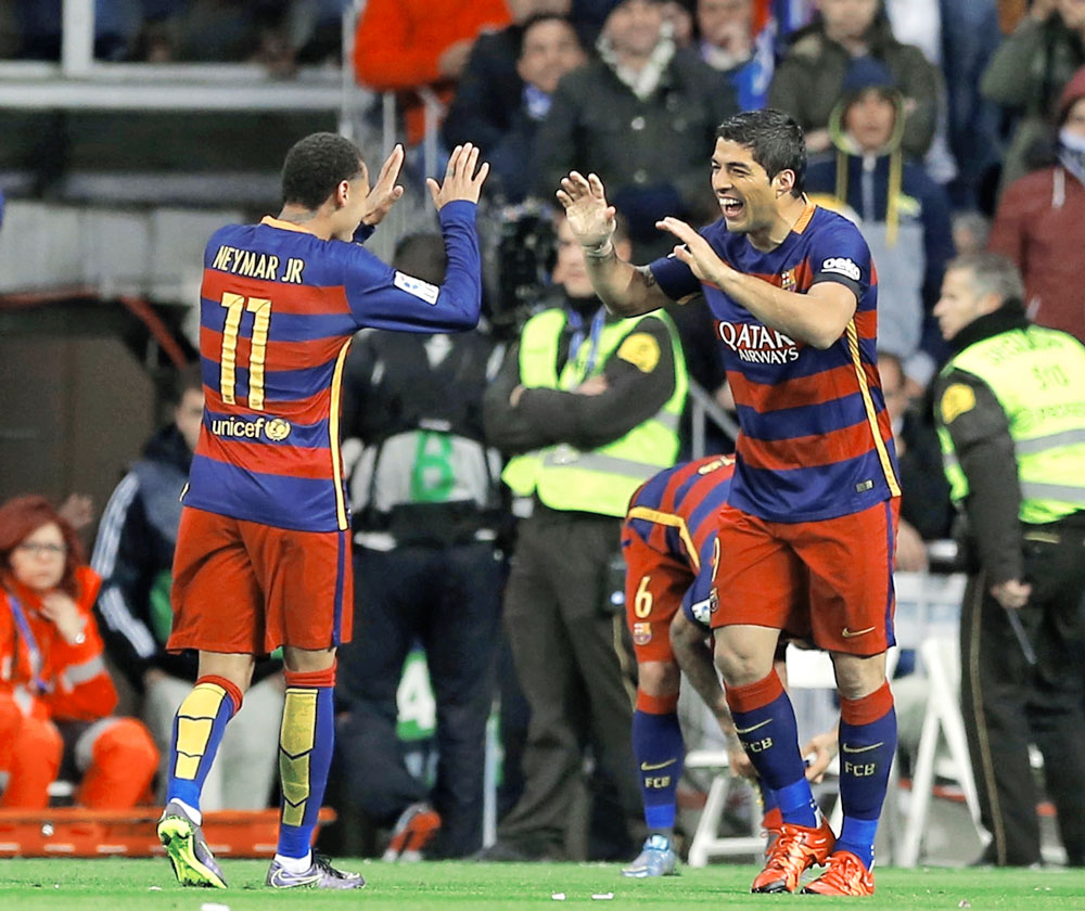 Barcelona dejó pálido al Real Madrid