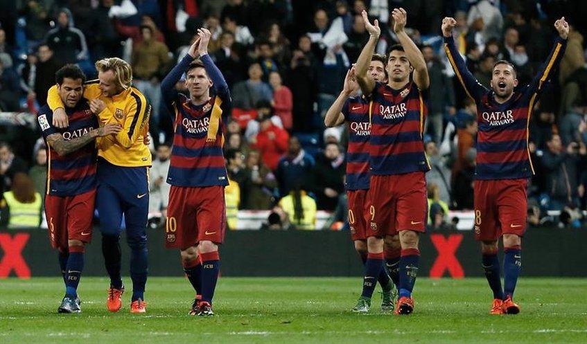 El Barcelona humilla al Real Madrid en el Santiago Bernabéu