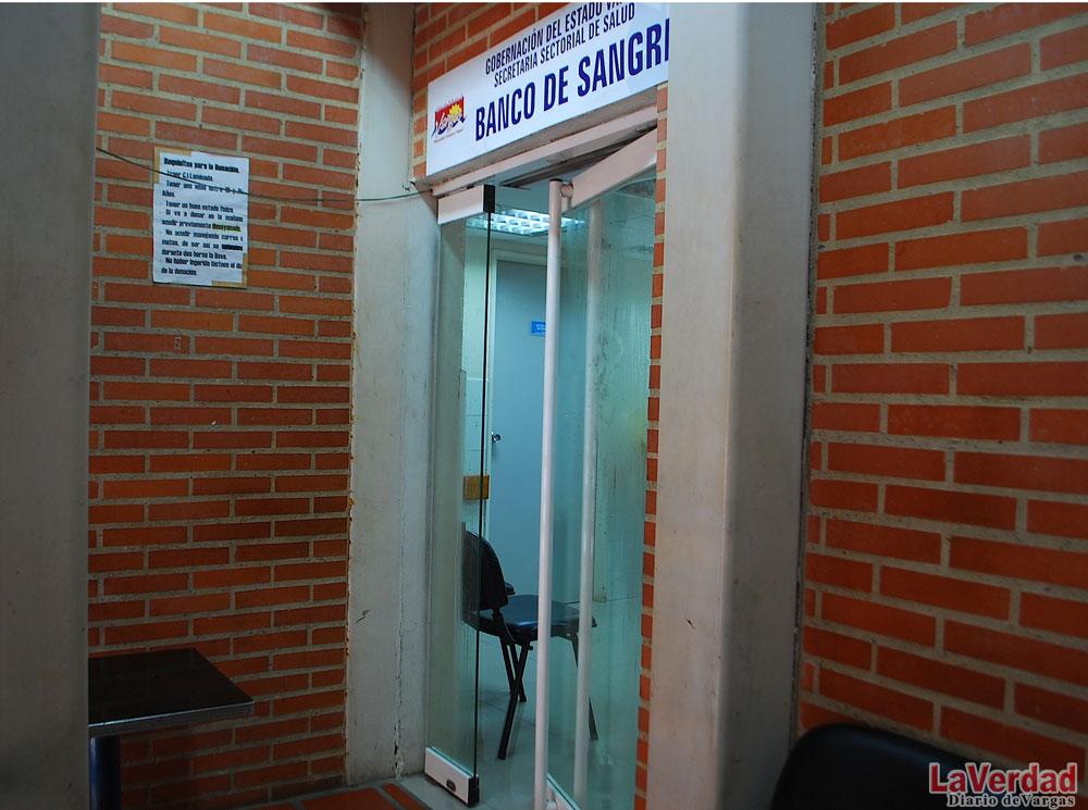 Banco de Sangre del Periférico con poca reserva