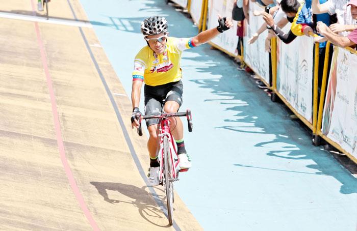 Jhonathan Salinas es el campeón de la Vuelta al Táchira 2017