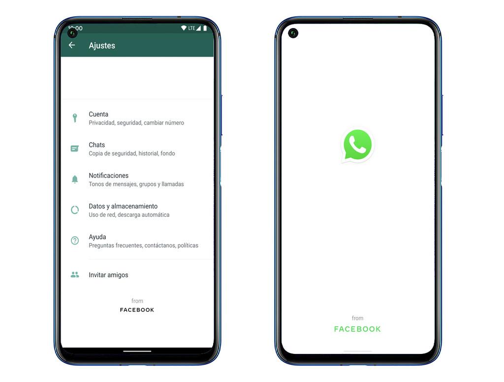 WhatsApp deja claro que es propiedad de Facebook en su última beta y adelanta la llegada del modo oscuro