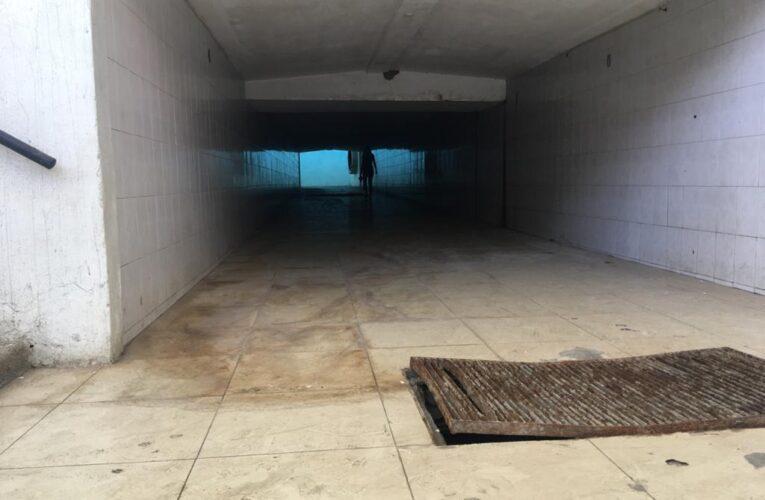 Túneles de La Guaira: saqueados y convertidos en baños