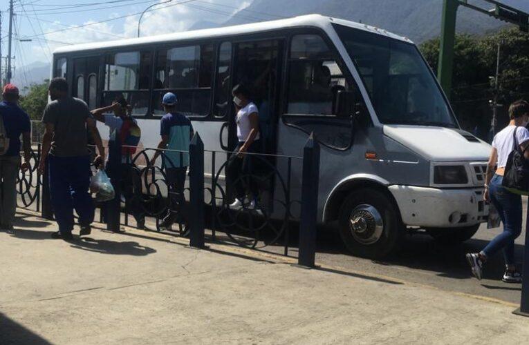 Piden más buses para Mare