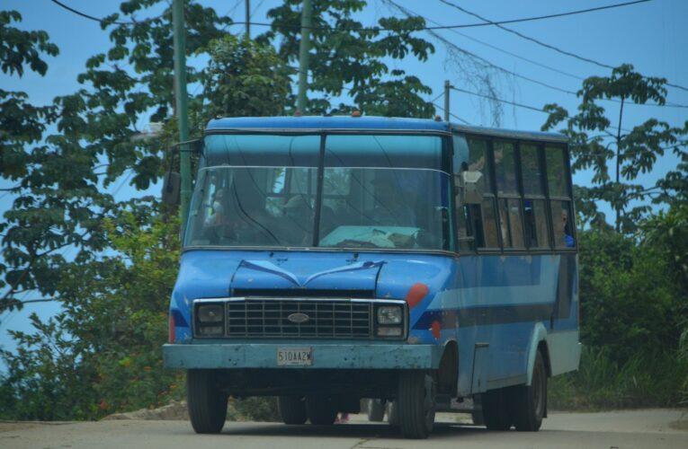 La mitad del transporte Carayaca-Tarmas están varados por repuestos