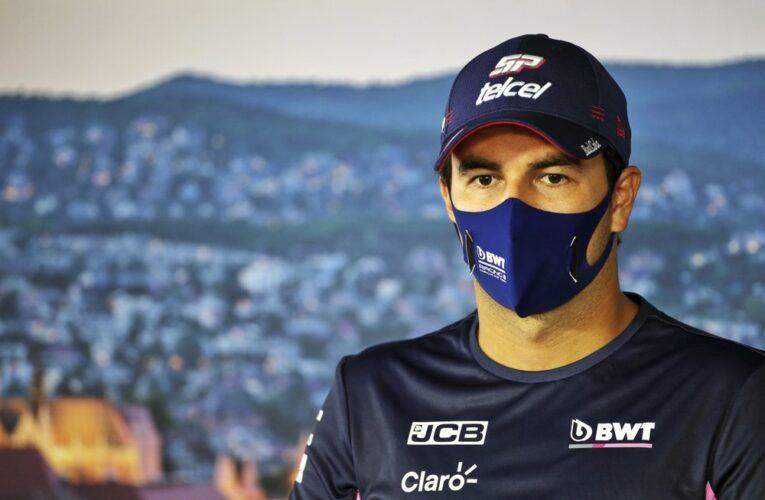 Sergio Pérez primer piloto de F1 en dar positivo por Covid