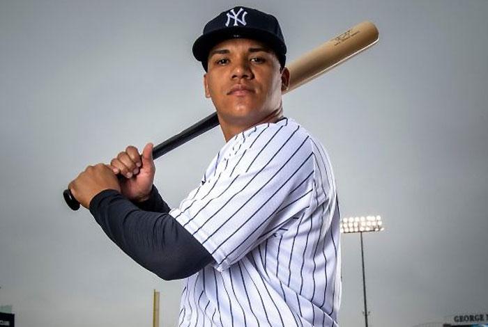 Thairo Estrada se ganó el cupo con los Yankees