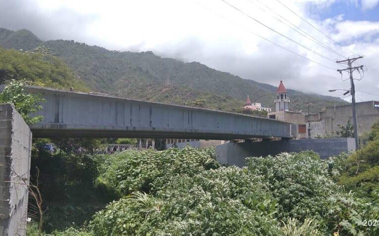 La obra del puente de La Guzmania lleva paralizada más de 12 años