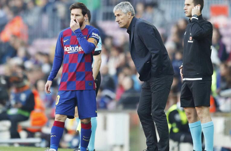 Setién seguirá como técnico del Barcelona