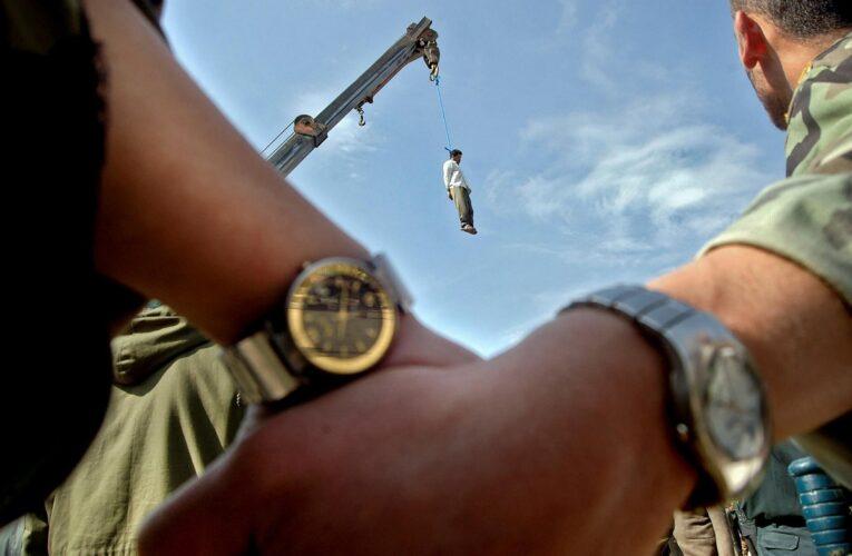 Régimen iraní ejecuta a un acusado de ser espía de EEUU
