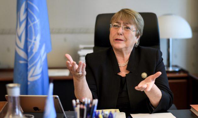 Bachelet denuncia uso de la justicia  para perseguir a la disidencia