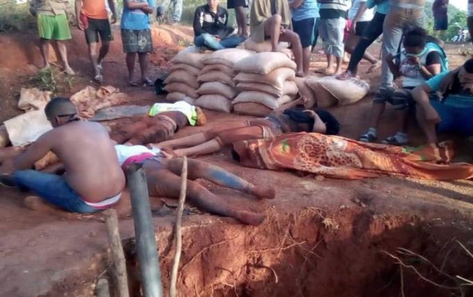 7 muertos en mina de El Callao