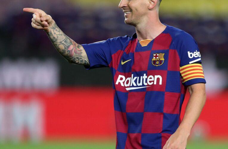 Barcelona confía en que Messi firmará un nuevo contrato