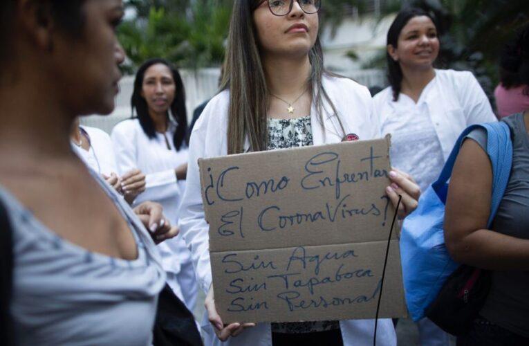 Colegio de Enfermeras: No necesitamos aplausos sino insumos