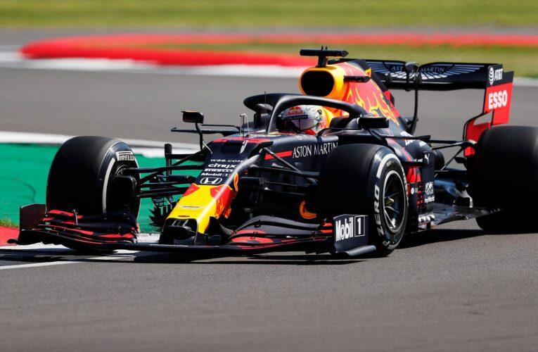 Verstappen dominó en el entrenamiento del GP de Gran Bretaña