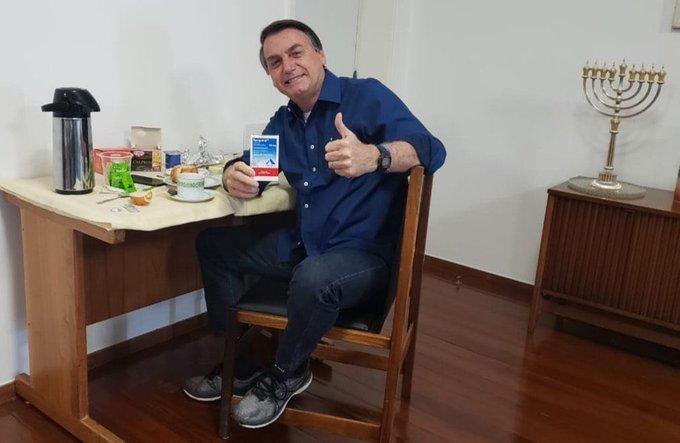Bolsonaro negativo tras dos semanas con coronavirus