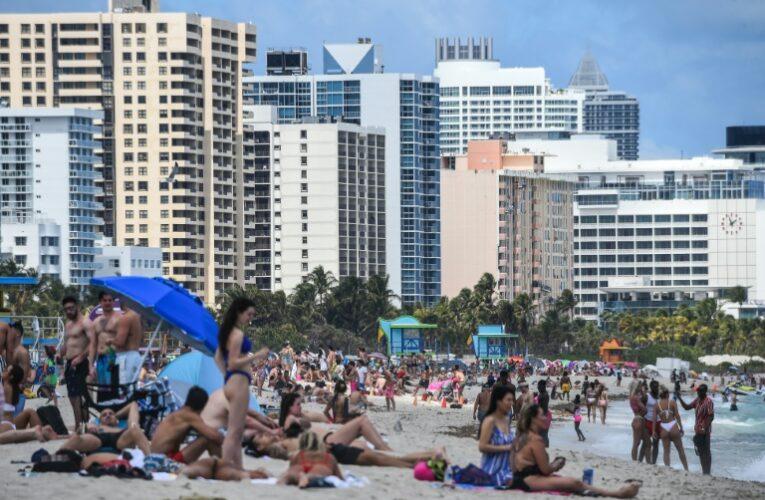 Récord de contagios en Miami