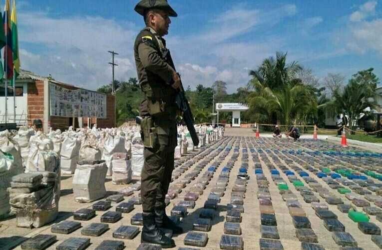 EEUU apretará cerco para incautar droga que salga de Venezuela