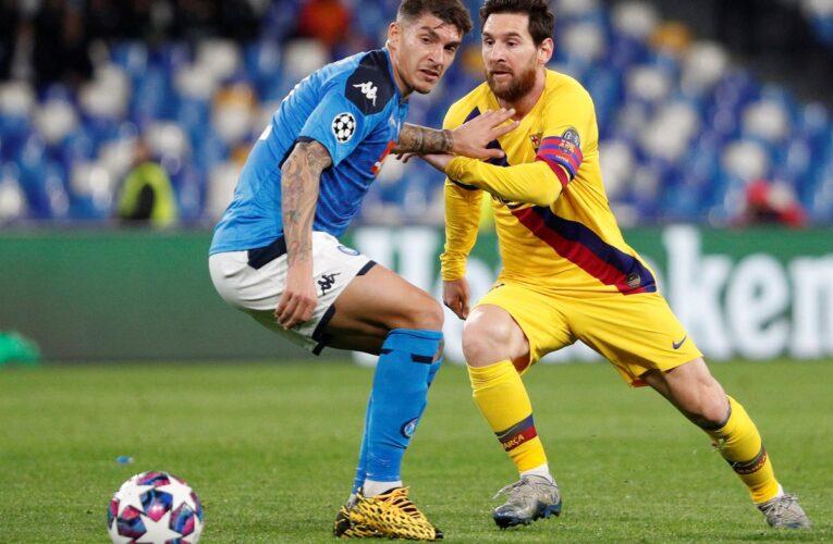 Barcelona-Nápoles se jugará como estaba previsto