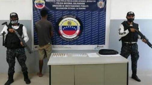 Con 98 municiones la DIP atrapó a un sujeto en Hugo Chávez