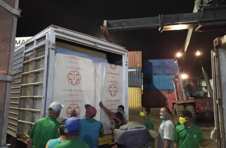Salva Foods envía mil kilos de alimentos a Los Caracas