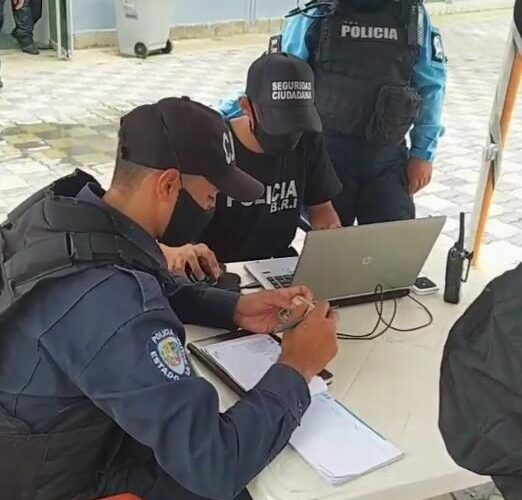 SIIPOL se estrena en la Policía de La Guaira