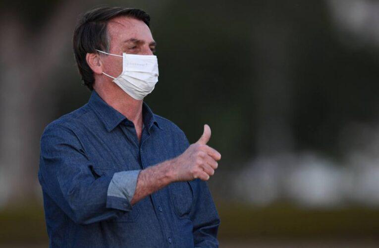 Bolsonaro vuelve a dar positivo por Covid