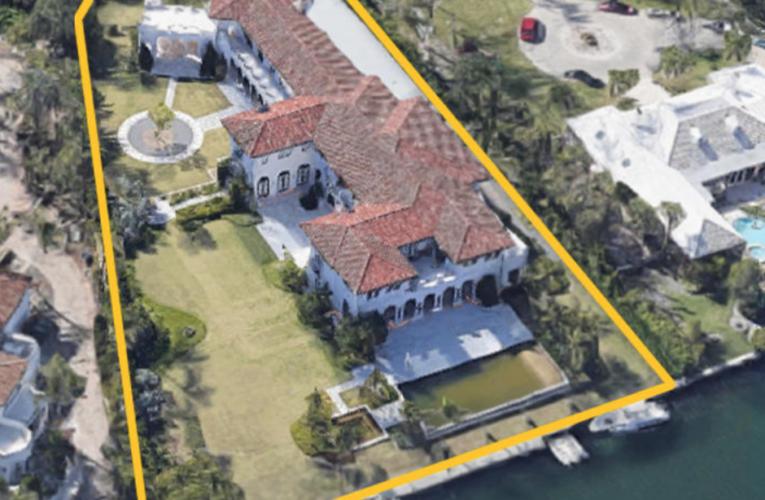 Venden en $12 millones mansión de Samark López en Miami