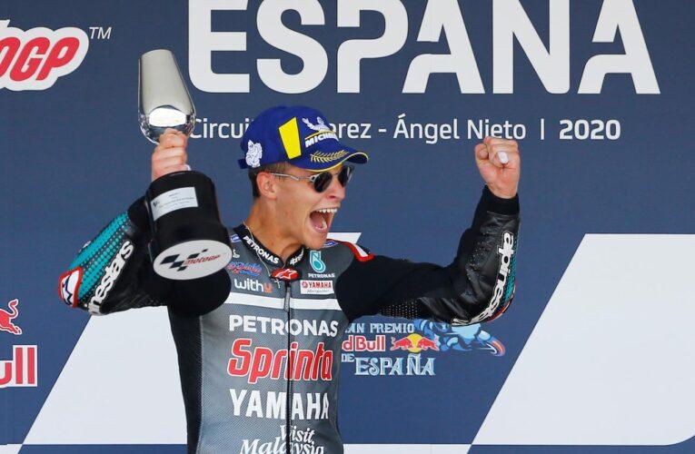Victoria histórica de Quartararo en el arranque de MotoGP