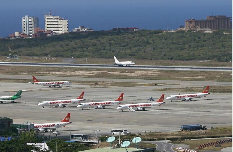 Acondicionan otra pista de aterrizaje  en el Aeropuerto de Maiquetía