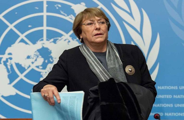 Bachelet denunció detenciones arbitrarias  con torturas y desapariciones en Venezuela