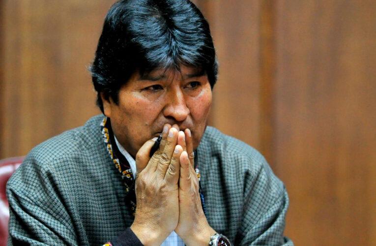 Fiscalía imputa a Evo Morales por terrorismo
