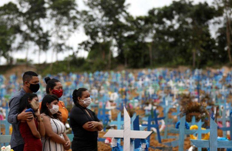 Brasil ya supera los 90 mil muertos por Covid