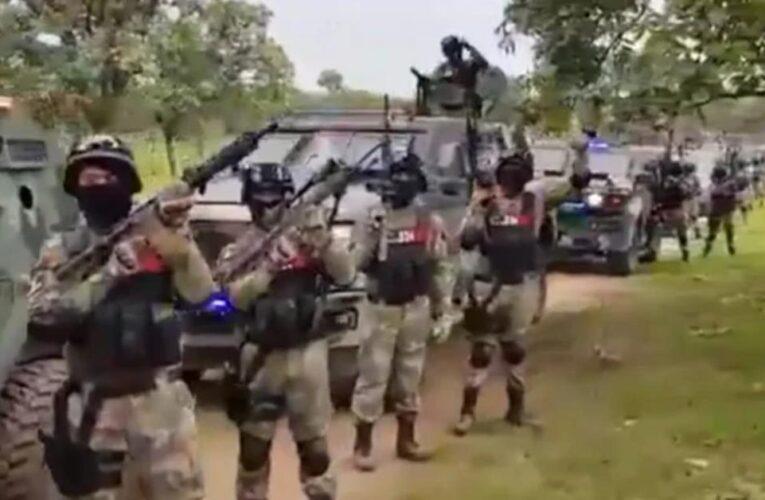 Narco mexicano «El Mencho» mostró su ejercito