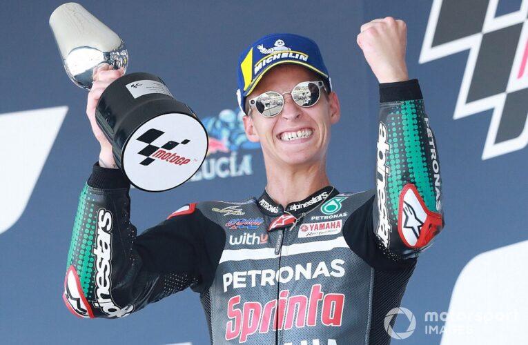 Quartararo logra su segunda victoria seguida en MotoGP