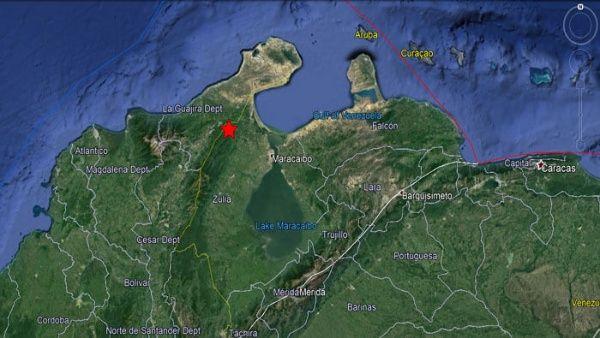 Sismo de 4.8 sacude frontera colombo-venezolana