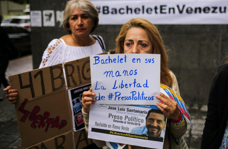 A 384 sube cifra de presos políticos