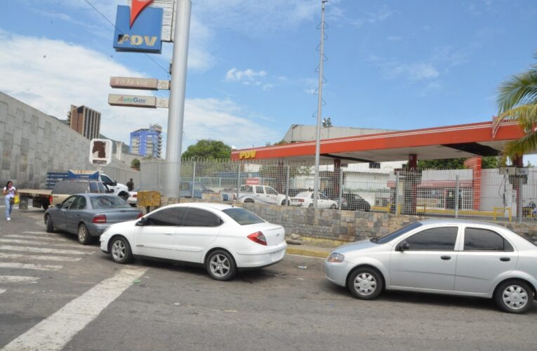 Página Patria solo registra 90 litros de gasolina