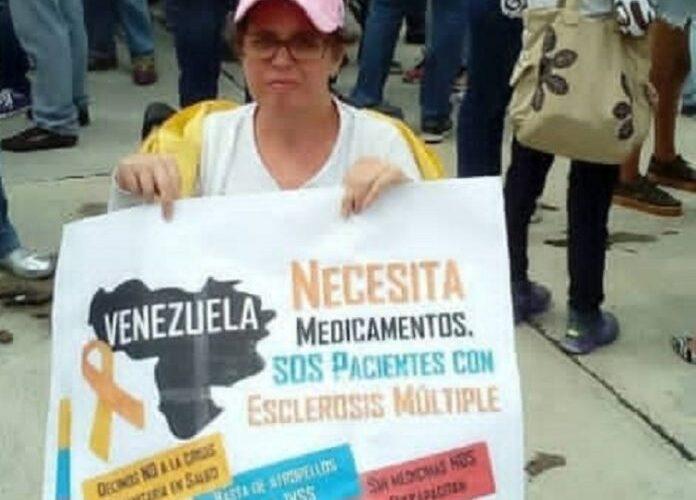 Lilian Salas: No somos invisible y necesitamos nuestros medicamentos