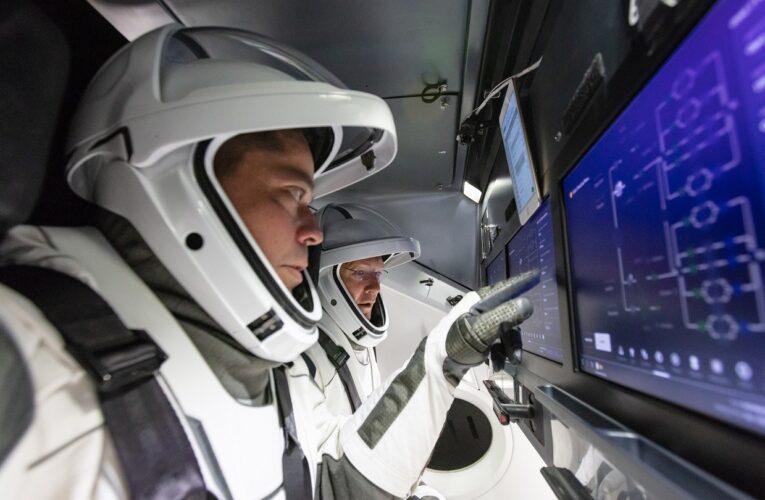 Así regresaran los astronautas de Space X a la Tierra