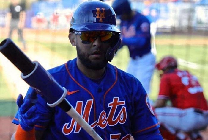 Alí Sánchez debutó con los Mets