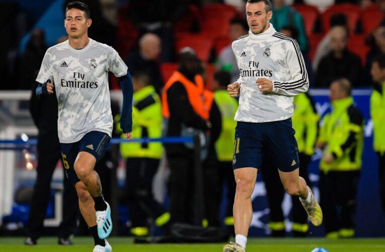 Zidane descarta a Bale y James para visita al City