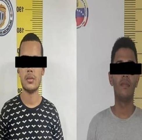 Detenidos dos presuntos ladrones en La Páez